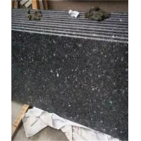 China Black Galaxy Granite Tile Waterfall Scenery Exterior Wall Hanging wholesale