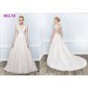 China Amazing Perfect Vintage Princess Bride Wedding Dress For Larger Ladies Floor Length wholesale