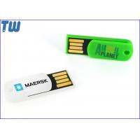 China Plastic Paper Clip 4GB Pen Drive Key Hole Free Key Chain Attached wholesale