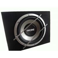 China Powered 500 Watt Car Subwoofer In Box , Single Car Subwoofer Enclosure on sale