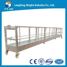 China aluminum Suspended access platform, wire rope hanging platform, suspended cradle wholesale