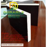 China China  Brown film faced plywood, 1220x2440x18mm(PLYWOOD MANUFACTURER) From Xuzhou Durable Company wholesale