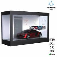 China Floor Standing Transparent LCD Touch Screen , Lg Transparent LCD Display wholesale