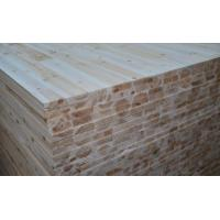 China Fir Core Melamine Paper Faced Laminated Block Board For Furniture Cabinet Use wholesale