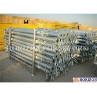 China High Loading Capacity Scaffolding Steel Prop Q235 Steel Pipe Zinc Plated Surface on sale