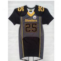 China Official Short Sleeve Football Jerseys , Sublimated Team Football Uniforms on sale