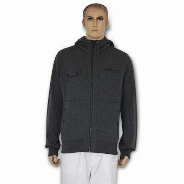 Quality Men's Polar Fleece Jacket, Available in Various Sizes and Colors, Made of Polyester/Cotton for sale