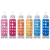 China FDA soft healthy 100% silicone covers for glass baby Products feeding bottle on sale