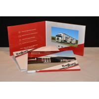 China TFT HD Screen business cards and brochures Pocket Style For Presentation , Ceremony wholesale