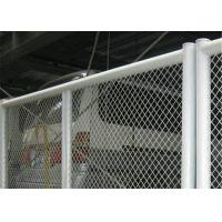 China Decorative Heavy Duty Expanded Metal Sheet Mesh Silver Color With Diamond Shape on sale