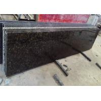 China Verde Butterfly Granite Kitchen Worktops Laminate Flat Edge With Micro Bevel wholesale
