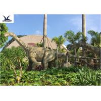 China Realistic Full Size Dinosaur Lawn Decorations Artificial Moving Dinosaur Model wholesale
