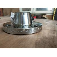 China Forged Weld Neck Fittings And Flanges Carbon Steel / Stainless Steel / Cu Ni Flange wholesale