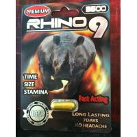 China Rhino 9 Platinum 3500 sex capsule for male enhancement wholesale