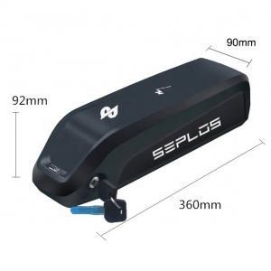 China Seplos HaiLong S1 E Bike Lithium Ion Battery Pack , 13ah 48v Ebike Battery Black wholesale