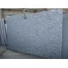 China rippling white flowre  granite g slab wholesale