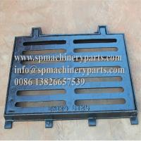 Buy cheap High quality standard heavy duty cast iron trench grates and frames for either from wholesalers