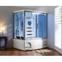 China Thickness 6mm 1350W FIR KY0211CA K083 infrared sauna steam shower room combination wholesale