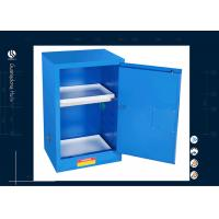 Buy cheap Full Steel Door Solvent Storage Cabinet  Fire Safe Cabinet With Lock 12 Gallon from wholesalers