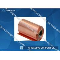 35um Single Shiny FCCL / PCB Electrolytic Copper Shielding Foil For Pcb Printed Circuit Board