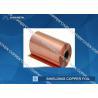 China Extraordinary strength Shielding copper foil sheet roll , Conductive Copper Foil wholesale