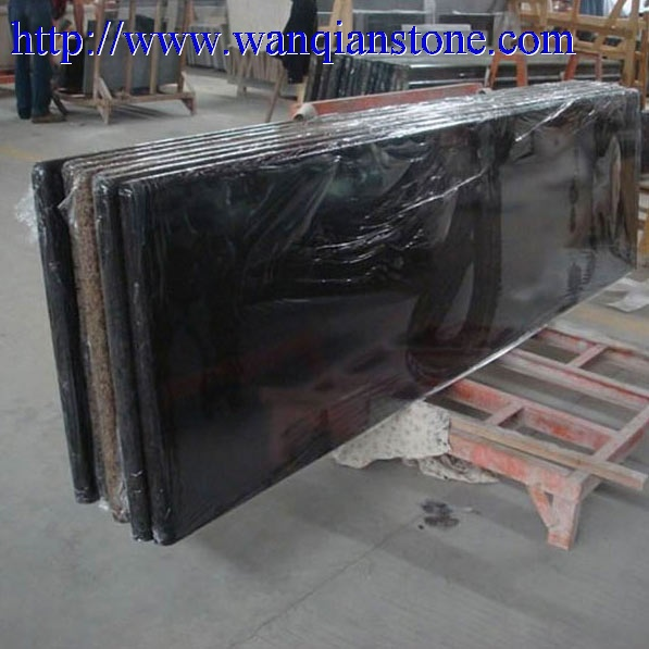 Quality Absolute black Granite countertop for sale