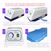 Strip Style Aero Anti Decubitus Mattress , Air Mattress To Prevent Bed Sores Blue Color