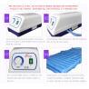 China Strip Style Aero Anti Decubitus Mattress , Air Mattress To Prevent Bed Sores Blue Color wholesale