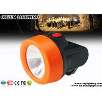 China Waterproof Miners Cap Lamp , Explosion Proof Mining Hat Light with USB Charger on sale