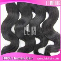 China Wholesale Price Grade 6A virgin human hair extension wholesale