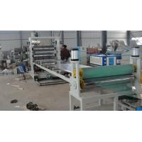 China 1000kg High Output PVC Sheet Extrusion Line For Steamship / Ceiling Plate wholesale