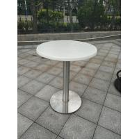 China Stainless Steel Table leg Outdoor Furniture Cafe Table Water Proof Table base wholesale