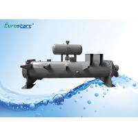 China Flooded Type Water Chiller Finned Tube Heat Exchanger Double Circuits wholesale