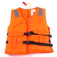 China Solas Approval Baby Life Vest , Polyester Oxford Material Rescue Life Jacket wholesale