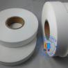 Blank woven clothing care label nylon taffeta polyamide printed label 25mm*200m  for thermal transfer printing