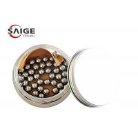 China 100Cr6 1.7mm Chrome Steel Balls G60 For Nail Polish Excellent Hardness on sale