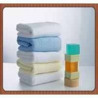 China Wholesale China Supplier Thicken Embroidered Five-Star 100% Cotton Hotel Bath Towel on sale