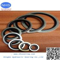 China PTFE/EPDM Bonded Seal/Customized Rubber Edge Seal Bonded to Metal wholesale