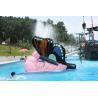 China Indoor Water Playground Equipment Kids Water Pool Slides Butterfly Fiberglass wholesale