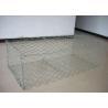 China Heavy Zinc Coated Gabion Box Double Twist Woven Mesh Gabion Long Life Time wholesale