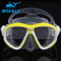 Buy cheap Detachable Ornamental Pieces Liquid Silicone Diving Mask Double-skirt and Strap from wholesalers