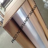 China Direct-Metalized  Double side Woven Fabric-radiant barrier 1.2MX1000M on sale