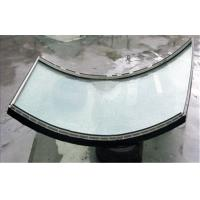China Low-E Curved Tempered Safety Glass Attack Resistant For Office wholesale