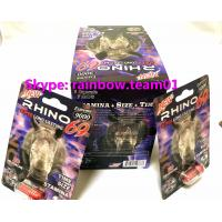 Rhino 69 3D  Cards 9000 Extreme Male Sexual Performance Enhancer sex pill capsule bullet