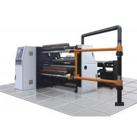 China Paper / Plastic Film Slitting And Rewinding Machine For PET PVC And Package Industry wholesale