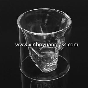 Skull crystal wine cup mug