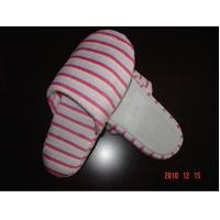 China Polyester Super-Soft Hotel Disposable Slippers Closed Toe For Women on sale