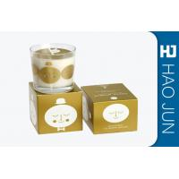 China Retail Luxury Candle Box Candle Tube Packaging With Bio - Degradable Materials wholesale