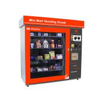 Touch Screen Vending Machine Business Station Automated Retail Coin / Bill / Card Operated