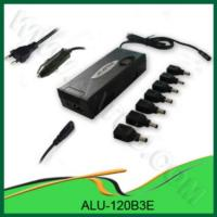 China AC & DC 120W Universal Laptop Adapter for Home & Car use - ALU-120B3E wholesale